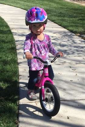 2-year old girls bike